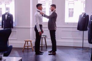Oscar Hunt Tailors Wedding Suit Experience